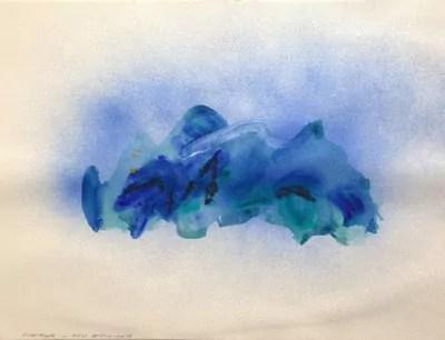 Montagne - Reve de printemps - Alain Husson-Dumoutier