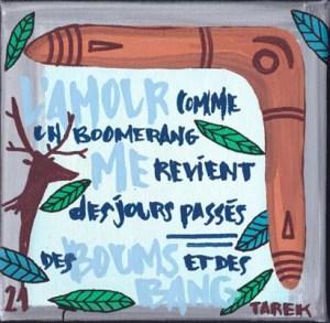 Comme 1 boomerang - Tarek - Gainsbourg