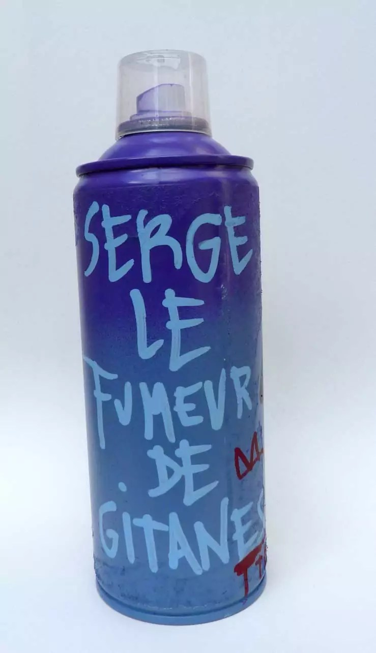 Serge le fumeur de Gitane - Tarek - Gainsbourg - Galerie JPHT - 0010