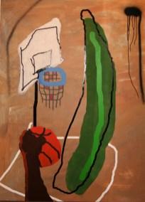 Macht kaputt was euch kaputt macht! II Marc-Aurel 2012 170 cm x 120 cm Lack Acryl auf MDF