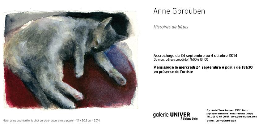Invitation Anne Gorouben