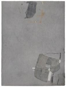 Forme composée I, 2018. Monotype, 39 x 29 cm.
