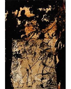Sans titre, 2015. Technique mixte et collage sur papier, 30 cm x 20 cm.