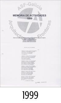 1999_ASFEG_Memoria de actividades