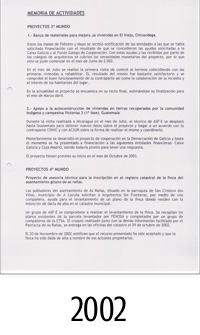 2002_ASFEG_Memoria de actividades