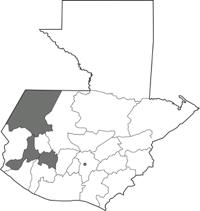 Departamentos de Sololá, Huehuetenango y Quetzaltenango