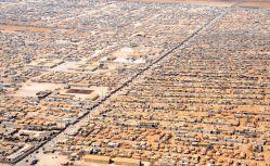 Campo de refuxiados e refuxiadas de Za'atari en Xordania