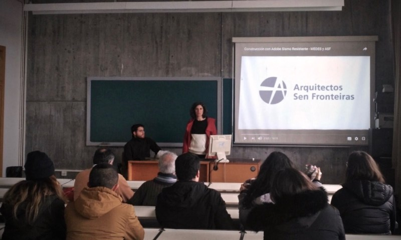 ASF Galicia nas Xornadas de Bioconstrucción da Universidade da Coruña