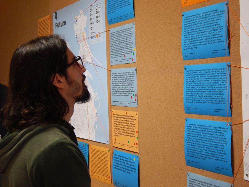 Exposición 'Historias de vida, territorio e vulnerabilidade'