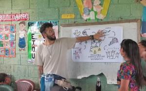 Daniel coa explicación do proceso participativo