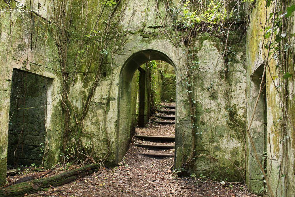 Ruinas de la Granja de las Salinas de Ulló | GALICIA MAXICA