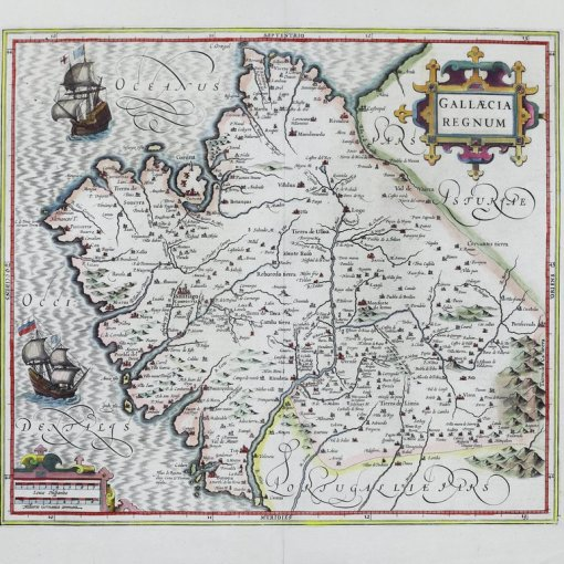 First map of Galicia