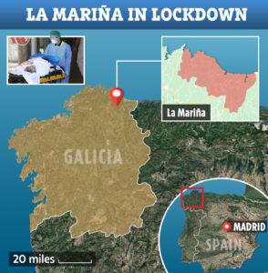 Lock down A Mariña