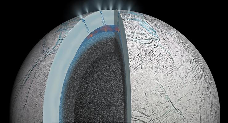 Cassini Encelado