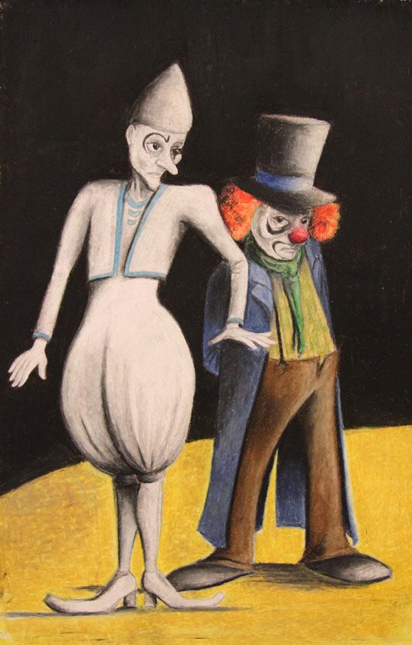Clown Auguste et Clown Blanc