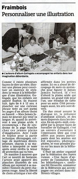 atelier illustration à fraimbois 54
