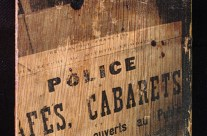 police des cabarets