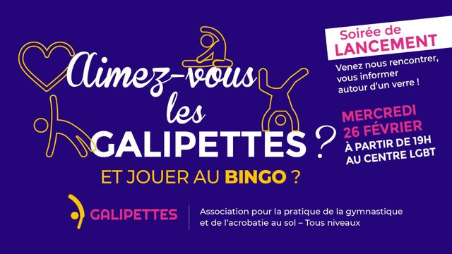 Mercredi 26 Février 2020, les GALIPETTES se lancent!!
