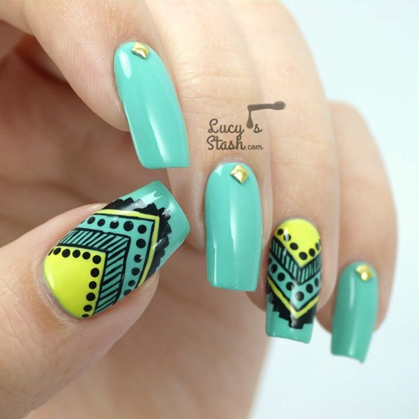 Nice Nails Art 2014 Tall Diy Nail Polish Rack Wood Regular What Can I Use Instead Of Nail Polish Remover Shiny Gold Nail Polish Young Nail Polish Storage Container BrightSimple And Easy Nail Art Designs Easy Australia Day Nail Art   Nail Art Ideas