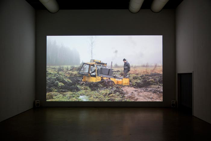 Mikko Haiko: Still from the video work Valmet. The Manual of Hope and Despair (2018)