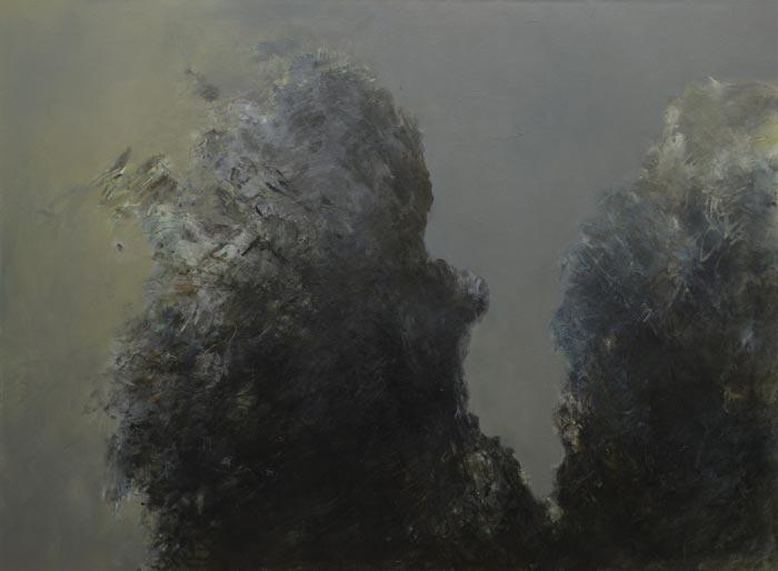 Katariina Salmijärvi, Känningar i svart, 2019, 140x190, öljy