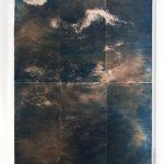 Anna Niskanen, Ebb, 2019. Six toned cyanotypes on paper, 117x161cm, framed