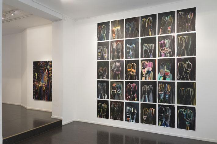 Noora Nio-Juss: Divided series, 2017, oil on paper, a 65x50 cm