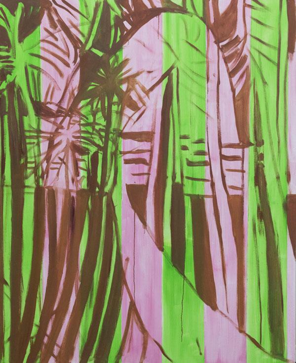 Noora Nio-Juss: Dream 3, 2017, oil on canvas, 160x130 cm