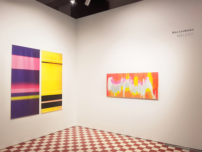 Kira Leskinen: Meledo, kuvia näyttelystä