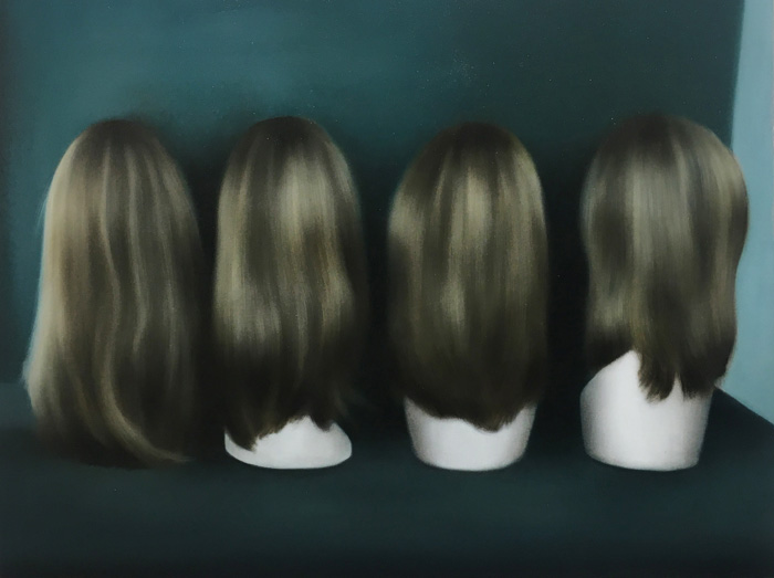Leonor Ruiz Dubrovin: Ipseity, Oil on canvas, 72 x 94 cm, 2021