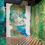 Paula Puoskari: Escape Garden – Vines of Hope (installaatio). Kuva Jussi Tiainen
