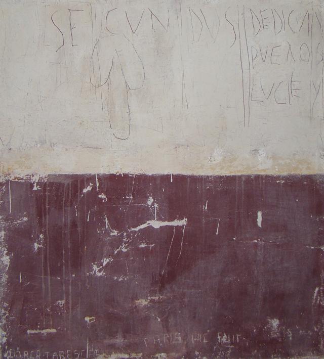 Puellarum decus - Pride of the girls, 2010, 116 x 110 cm