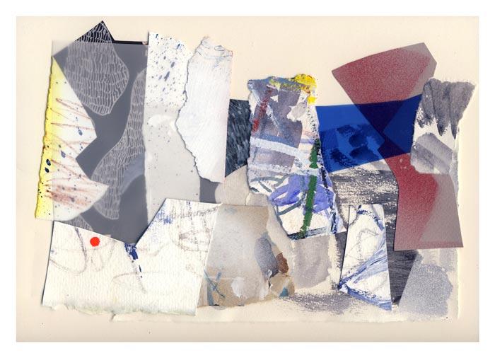 """Tero Kontinen: """"Mahdollisesti käyttökelpoista"""", 32,5 x 24 cm, akryyliväri, akryylimuste ja akryylimarker paperilla, värikalvo, 2018"""
