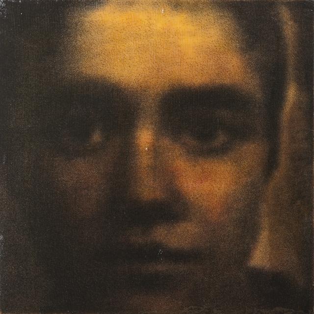 Muotokuva nro 23, 2011, serigrafia ja lakka