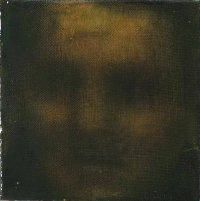 Muotokuva nro 5, 2011, serigrafia ja lakka