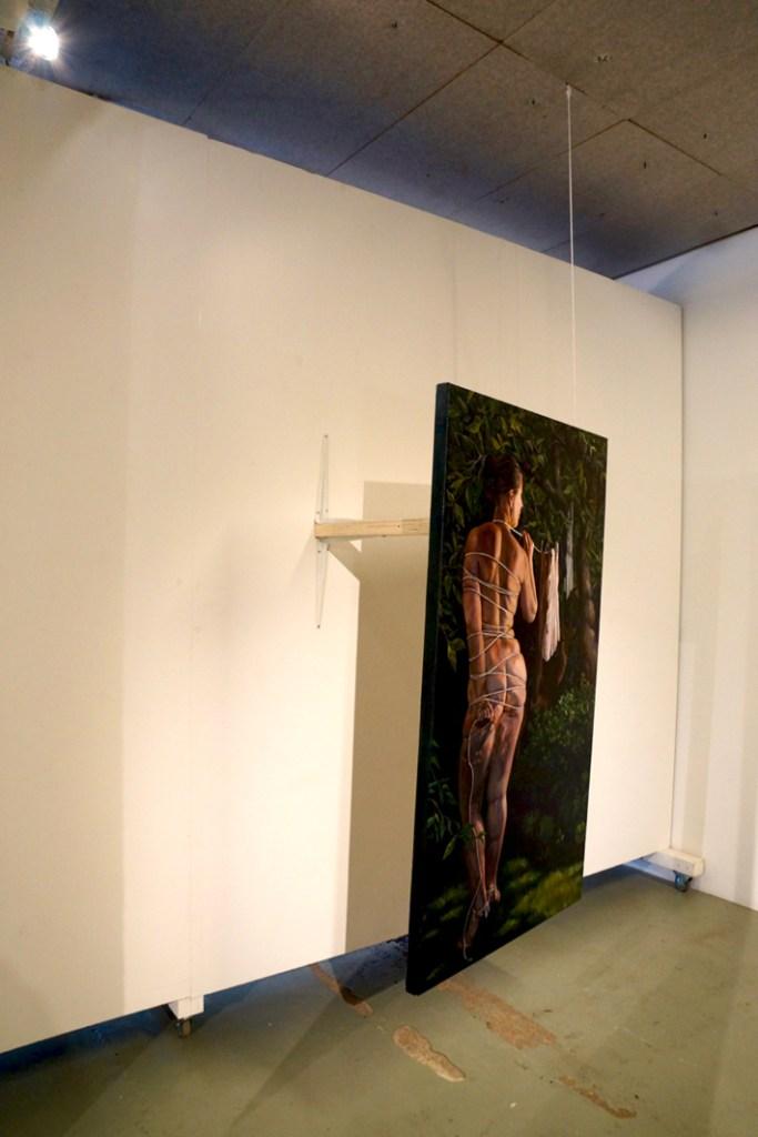 Wunderkammer / Anna-Liisa Kankaanmäki: Riippuvuus (Curator & image: Ville Laaksonen)