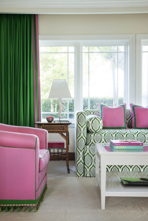Pink and Green Gallerie B