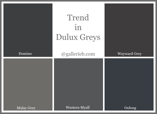 Whats Trending In Dulux Paint Colours Gallerie B