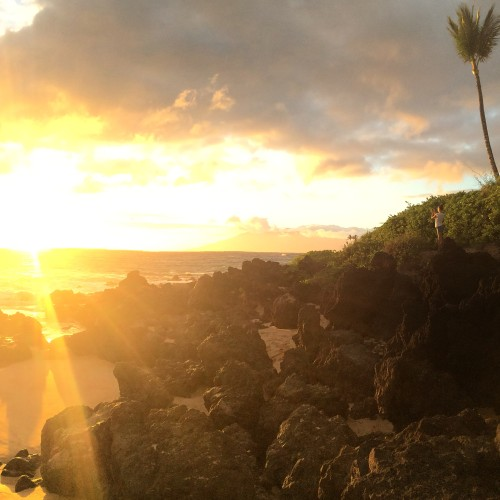 Sunset in Wailea, Hawaii Four-O. Gallerie B