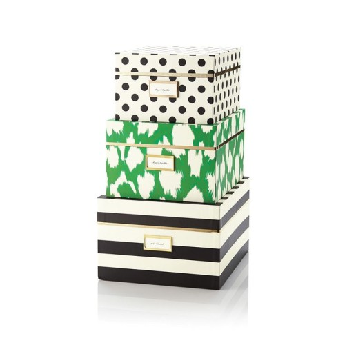 Kate Spade Nesting Boxes. Get Organised In Style, Gallerie B blog.