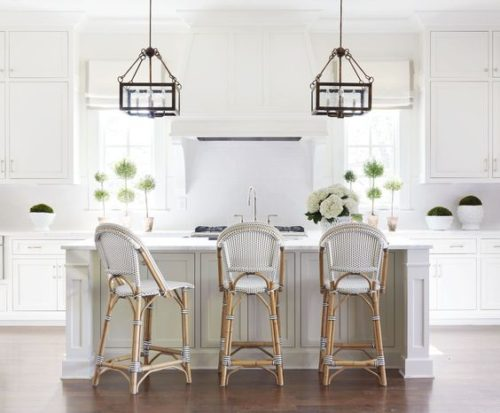Classic white kitchen by Sarah Bartholomew. Friday's Favourites, Gallerie B.
