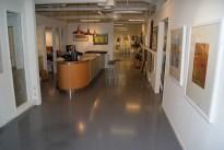 resepsjonen i galleriet, foto