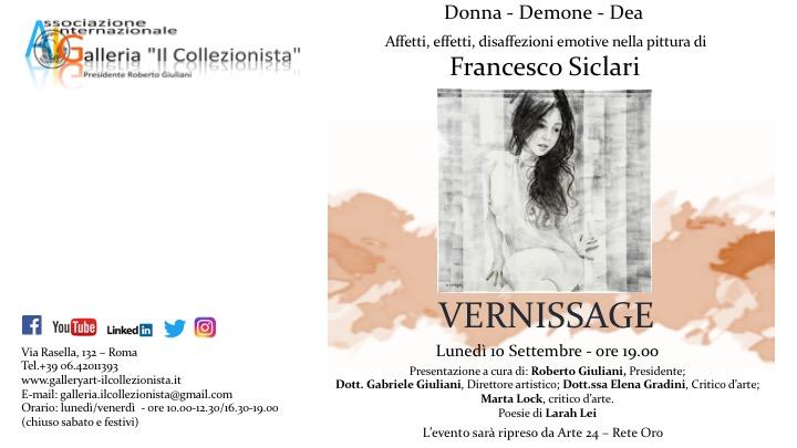 Mostra Personale Di Francesco Siclari