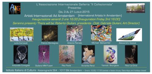 Artisti Internazionali ad Amsterdam