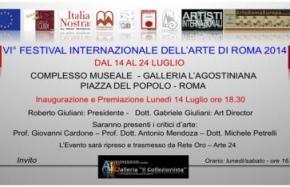 VII° Festival Internazionale Dell'Arte Di Roma 2014