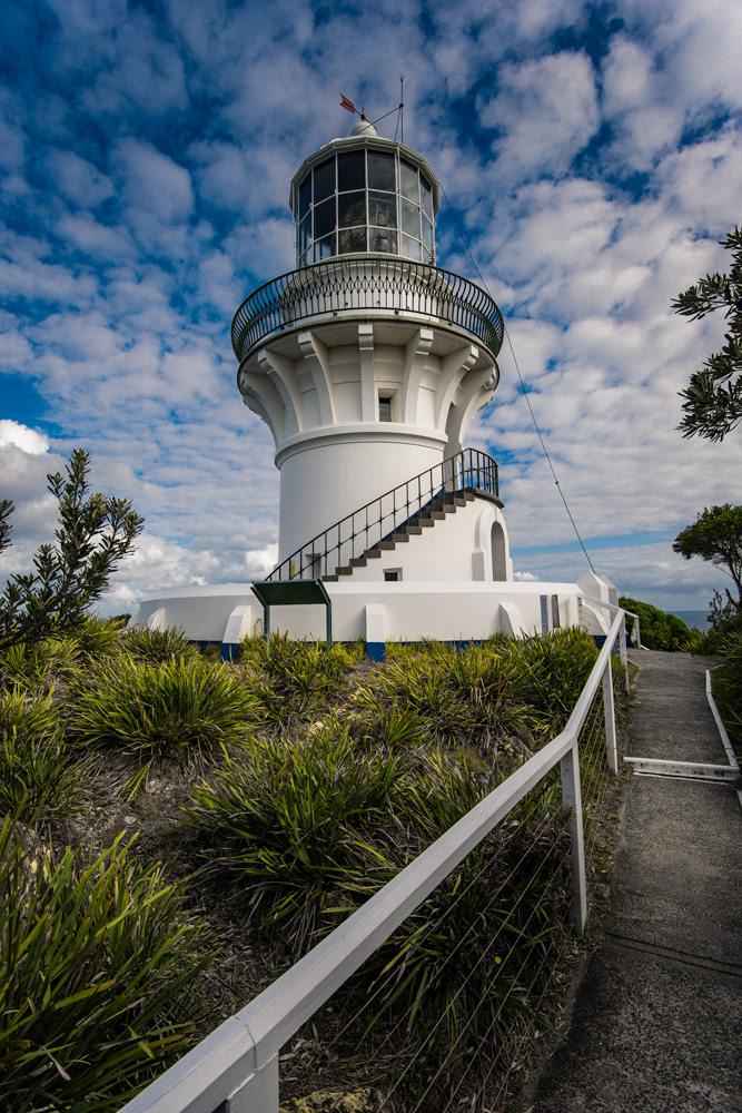Sugar Loaf lighthouse at Seal Rocks