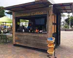 Coffee Shipping Container Venues Beverage Long Beach Aquarium Long Beach California 2
