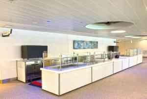 Custom Food Kiosk Mobile Cart Venues Campuses Convention Centers Food HighEnd SoFi Stadium Los Angeles California 1