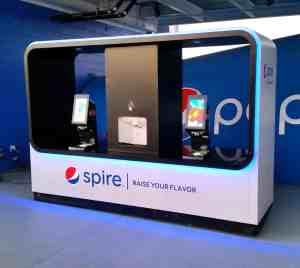 Pepsi Spire Beverage Cart MobileCart Venues Beverage Levi Stadium StantaClara California 1