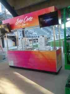 Soccer Stadium Food Beverage Carts Venues Audi Field Washington DC 4